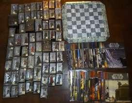 Juego de ajedrez Star Wars planeta de Agostini. COMPLETO.