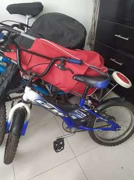 Bicicleta GW Nitro para niños