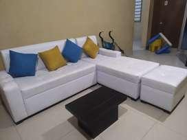 Muebles de cuerina