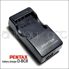 A64 Cargador Pentax D-bc8 Bateria D-li95 D-li85 Fuji Kodak