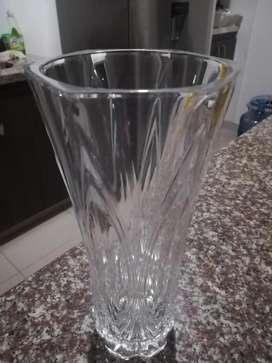 jarron cristal de bohemia