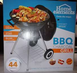 Asador de carbón bbq Marca home elements