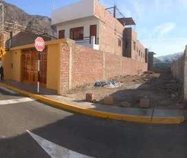 Vendo terreno idílica ubicación en Lunahuaná