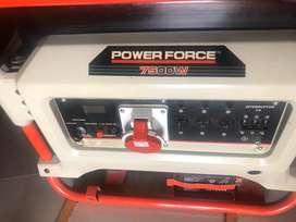 Venta de Generador Monofasico / trifasico 7500w Power Force
