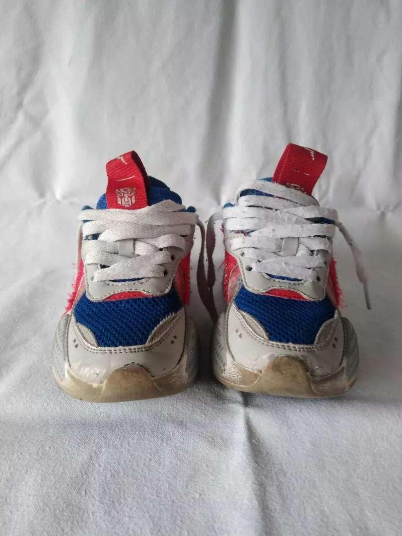zapatillas Puma RS niño