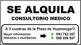 Se Alquila - Consultorio Médico
