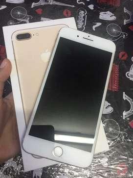 iPhone 7plus Gold de 128gb Libre