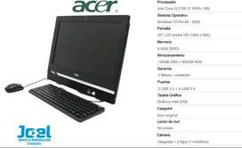 ALL IN ONE ACER I3 SSD120+500GB RAM 6GB