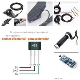 Sensor Hall Acelerador Bicicleta Eléctri
