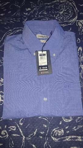 Camisa Cacharel Nueva Algodon Talla S