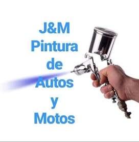 Taller de Pintura y reparación de plásticos de Motos