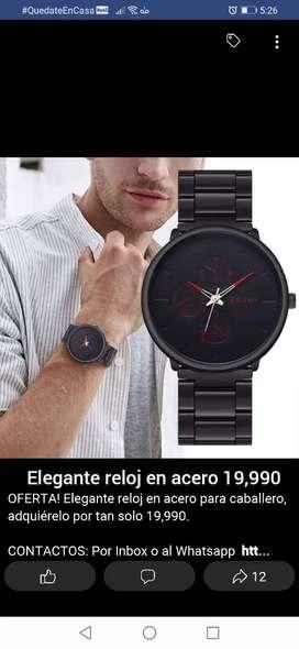 Oferta! Elegante reloj para caballero