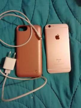iPhone 6S, 64 G, excelente estado