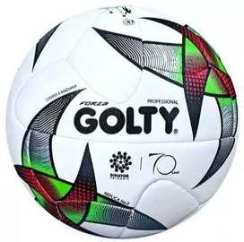 Balon Futbol Golty Forza Cosido Recreativo Liga N5 Promocion