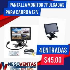 PANTALLA MONITORA DE 4 CAMARAS EN OFERTA ÚNICA DE NEGOVENTAS