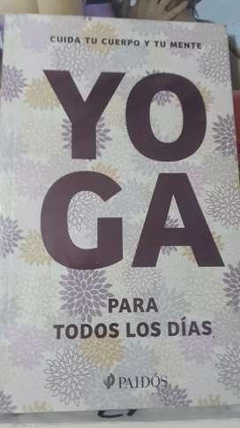 Yoga para todos los dias (nuevo)