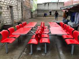 Mesas reforzadas