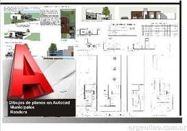 Realizamos planos municipales, proyectos de Arquitectura
