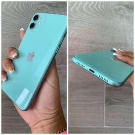 iPhone 11 verde 64gb $600