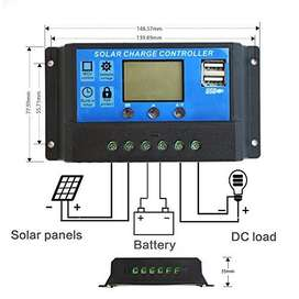 REGULADOR DE CARGA 12/24V30A RBL PANEL SOLAR