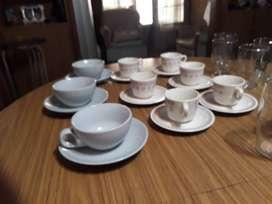juego de cafe vasos nuevos cada juego $300