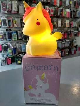 Velador unicornio LED