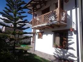 Hermosa Casa 4 dormitorios 5 Baños 4 Garage Bodega Estudio Porche Sector Amagasi
