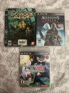 Vendo juegos PS3 en perfecto estado a 15.000 C/U