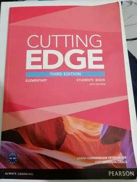 Libro de ingles Cutting Edge nuevo