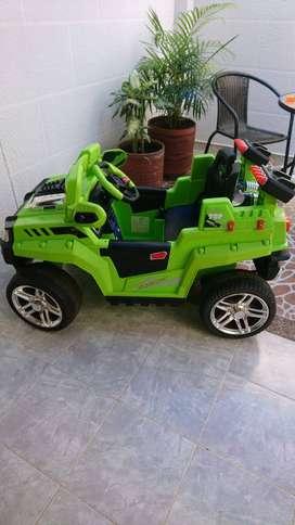 Carro montable a control remoto