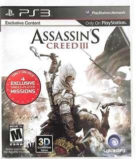 Assassin's Creed lll
