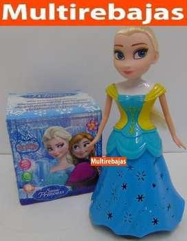 Muñeca Frozen Musical Con Luces Y Movimiento
