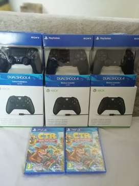 Controles xbox One y PS4