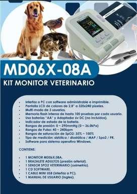 Mini monitor de sign portátiles veterinarios