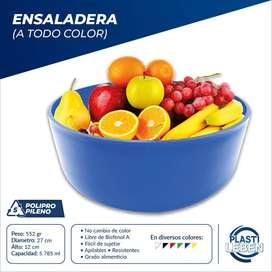 Bowl Ensaladeras Plásticas Para Alimentos