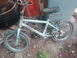 Vendo bicis ideal para bicicletero