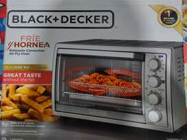 En venta excelente horno tostador BLACK+DECKER con tecnología airfry