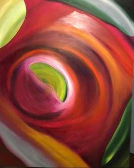 Vendo cuadros abstractos al oleo