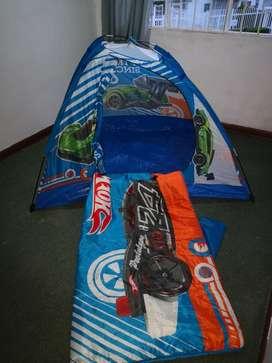 Carpa Infantil Hotwells Usado