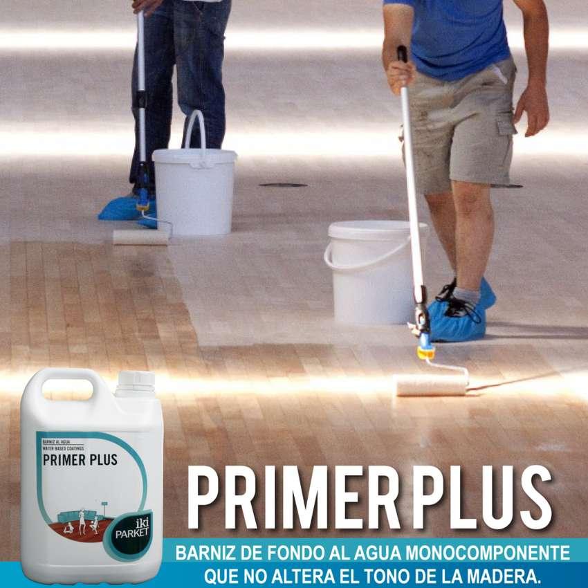PRIMER PLUSS 5L. / Fondo en base agua para pisos de madera 0