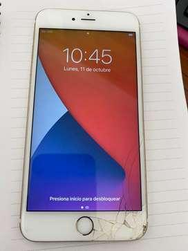 Iphone 6S Plus Dorado con Huella