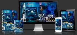 Crea tu Videojuego. Curso Premium