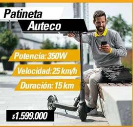 PATINETA ELECTRICA AUTECO