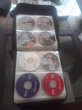 Porta cd, 170 cd de música y videos