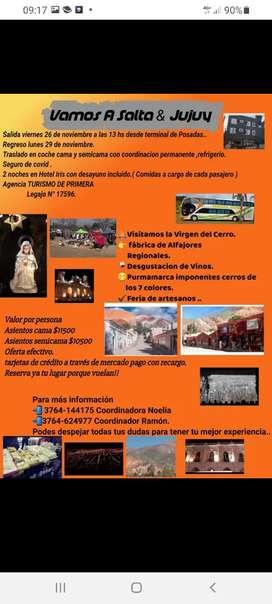 Viaje a Salta y Jujuy