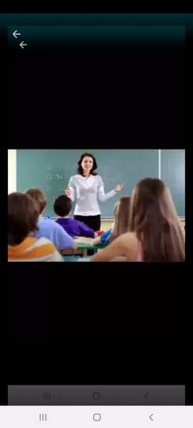 Se necesita lic de lengua y literatura que tenga conocimiento de pruebas para ingreso a la universidad
