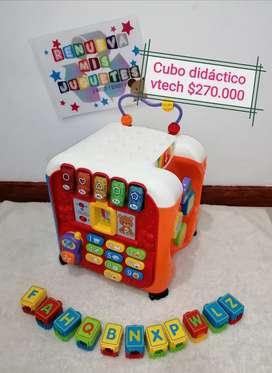 Cubo didactico VTech, 5 lados de Múltiples Actividades