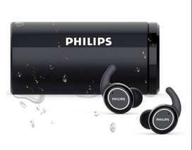Audifonos true wireless bluetooth 5.0 IPX5/ Limpieza UV-TAST702BK - negro