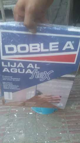 Lija al agua flex doble a