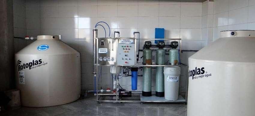 Vendo o Permuto Planta Embotelladora de Agua Osmosis Inversa 0